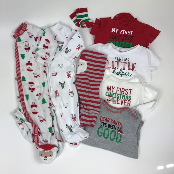 Carter's Other - Christmas 6m Lot